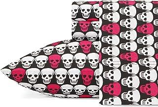 Betsey Johnson Skulls Sheet Set, Queen
