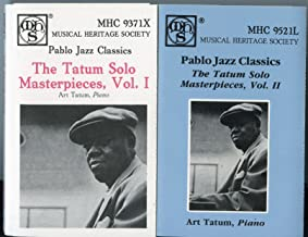 The Tatum Solo Masterpieces, Vol 1 and 2 (Pablo Jazz Classics)