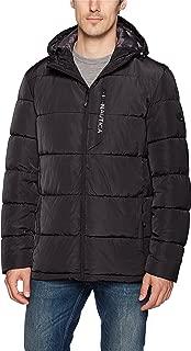 Men's Quilted Hooded Parka Jacket