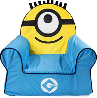 Marshmallow Furniture, Children's Foam Comfy Chair, Despicable Me Minions, by Spin Master