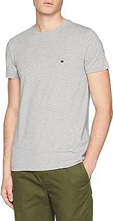 Tommy Hilfiger Camisa casual para Hombre, Cloud