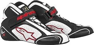 Alpinestars (2712113-123-3.5 Black/White/Red Size-3.5 Tech 1-KX Karting Shoes