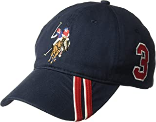 U.S. Polo Assn. Men's Polo Horse Baseball Cap, Diagonal...