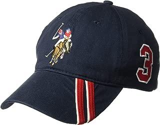 U.S. Polo Assn. Men's Polo Horse Baseball Cap, Diagonal...