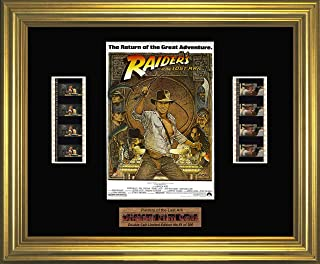 Raiders of the Lost Ark - Framed double filmcell picture (gd)