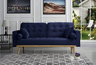 Amazoncom Blue Sofas Couches Living Room Furniture Home