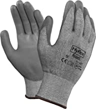 Ansell HyFlex 11-627 Dyneema Glove, Cut Resistant, Polyeurethane Coating, Small , Size 8 (Pack of 1)