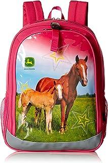 Girls Kids Boys Child School Backpacks, MAGENTA, One Size