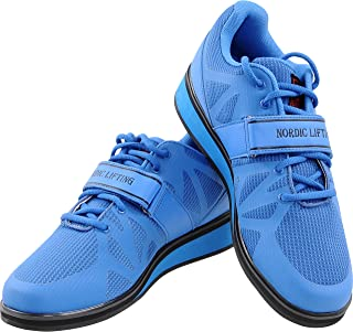 Nordic Lifting Powerlifting Shoes for Heavy Weightlifting - Men's Squat Shoe - MEGIN by 1 Year Warranty