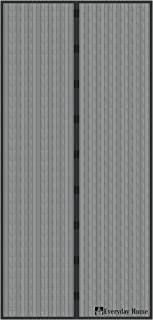 Magnetic Screen Door with Heavy Duty Magnets and Mesh Curtain by Everyday Home
