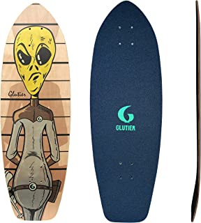 Glutier Surfskate Deck Villain Flubber 31 Surf Ska...