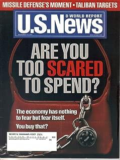 U.S. News & World Report Magazine, November 192, 2001 (Vol. 131, No. 21)