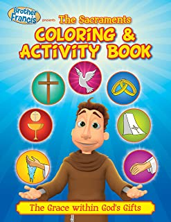 The Sacraments Coloring & Activity Book (Brother Francis)