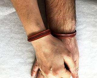 His and Hers Bracelet Couples Bracelets Personalized Couples Bracelets His and Hers Bracelet Personalized Hidden Message Bracelet bracelet Leather Custom Secret Message Couples Cuff Bracelets