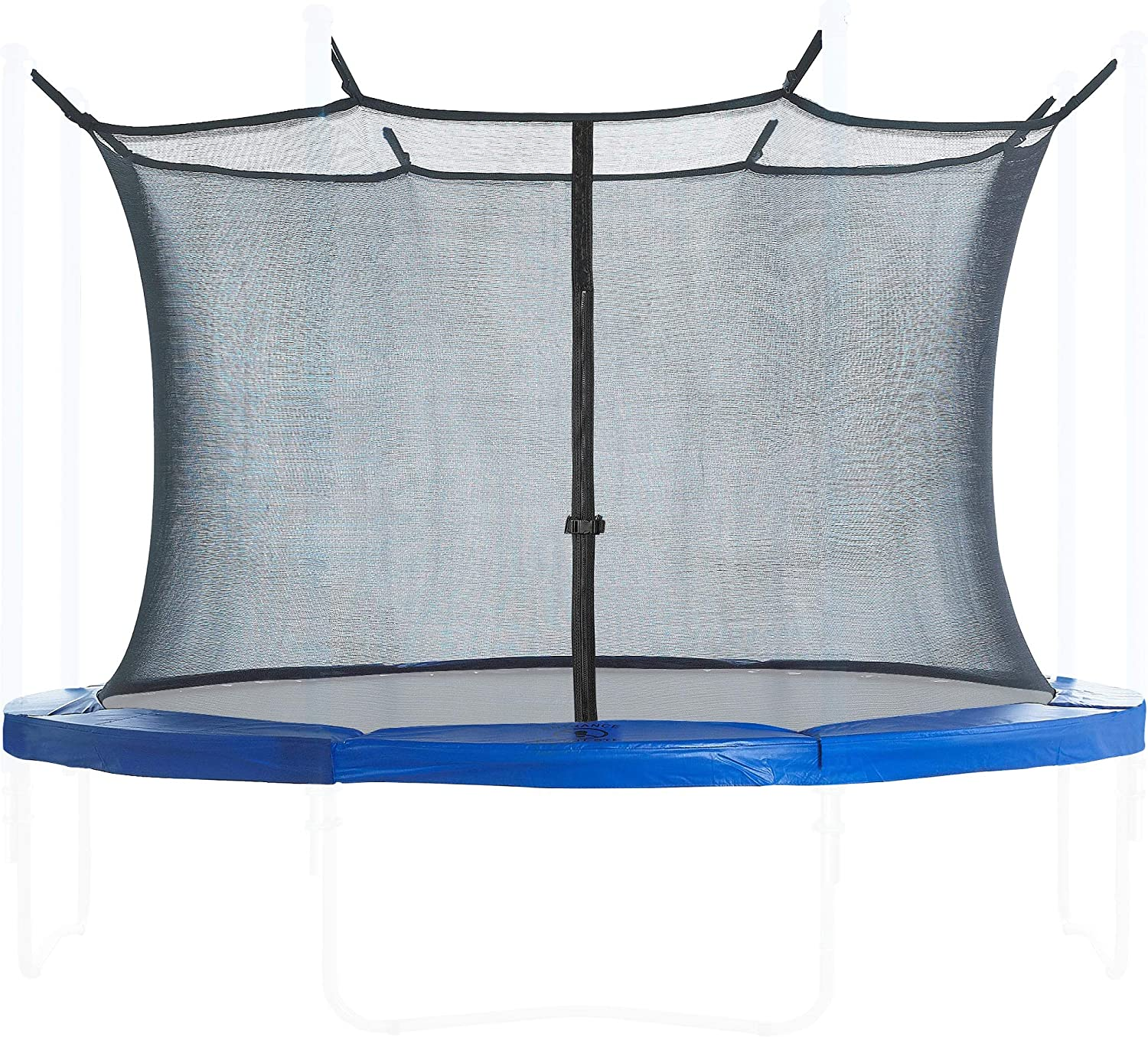 Trampoline Enclosure Net and Safety Pad set  Round frame Safety