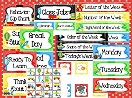 Printable Transportation Classroom Accessories and Decor