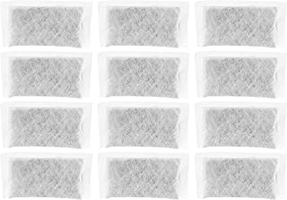 Nispira Replacement Activated Charcoal Water Filters Compatible with Megahome and Other Countertop Water Distiller, 12 packs