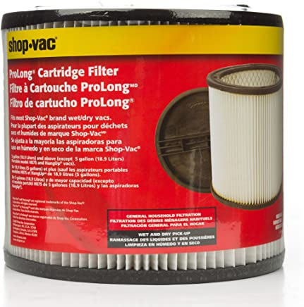 Shop-Vac 90304 Cartridge Filter, Single Pack
