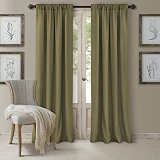 Elrene Home Fashions 26865545999 Window Curtain, 52x95 Inches, Glade