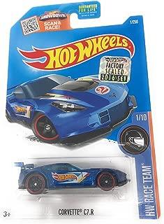 Hot Wheels 2016 HW Race Team Corvette C7.R 1/250, Blue