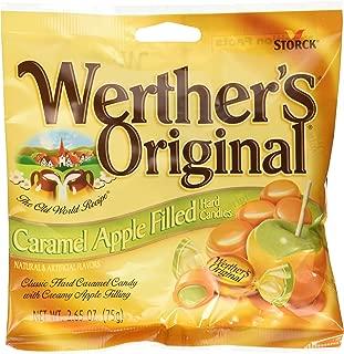 Werthers Original Caramel Apple Filled Hard Candies PACK of 3