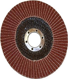 Rolson Alumoxid klaff skiva för slipning/slipning/utjämning, 115 mm
