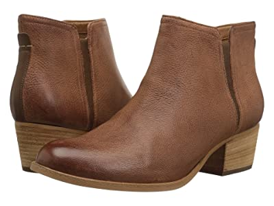 Clarks Maypearl Ramie (Dark Tan Leather Combo) Women