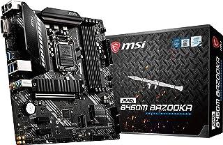 لوحة ام اس اي MAG B460M BAZOOKA للألعاب (mATX، الجيل العاشر انتل كور،LGA 1200 مقبس DDR4، فتحات M.2، USB 3.2 الجيل 1، 2.5G ...