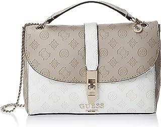GUESS Womens Handbag, Taupe/Multicolour - SG739818