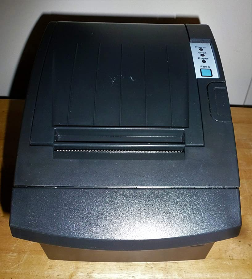 Bixolon SRP-350PLUSIIICOSG Thermal Printer with Power Supply and USB Cable, Serial/USB/Ethernet, Black