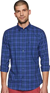 Allen Solly Men's Checkered Slim fit Casual Shirt