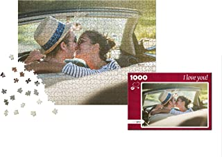 puzzleYOU Photo Puzzle 1000 Pieces: Custom Puzzle Your Image an Individual give-Away Puzzle Box (red Heart)