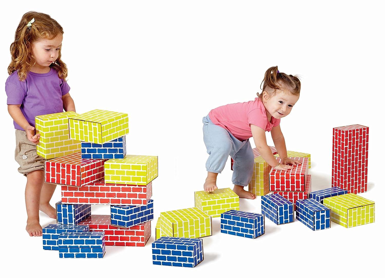 Edushape 709052 Corrugated Blocks Fixed price for sale Piece 52 Max 43% OFF