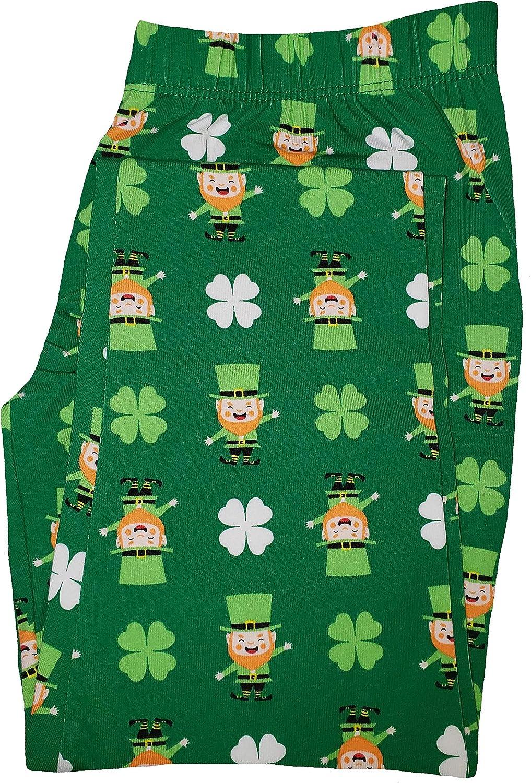 No Boundaries St. Patrick's Day Shamrock Fairisle Ankle Legging