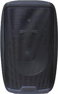 Gemini Audio AS-2115P Woofer 38,1 cm 2000 W Système de sonorisation actif portable pour DJ avec entrée XLR/sortie XLR, mic...