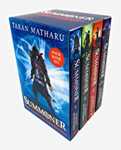 Taran Matharu The Summoner 4 Books Collection Set (The Battlemage, The Novice, The Inquisition, The Outcast)