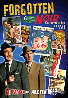 Forgotten Noir Collector's Set 2: (Man From Cairo / Mask of the Dragon / FBI Girl / Tough Assignment / I'll Get You / and more)