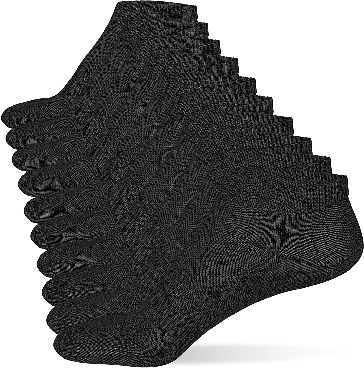 CoziFoot 10 Pairs Women Ankle Socks Quality inspection Athletic Charlotte Mall Low So Cut Soft