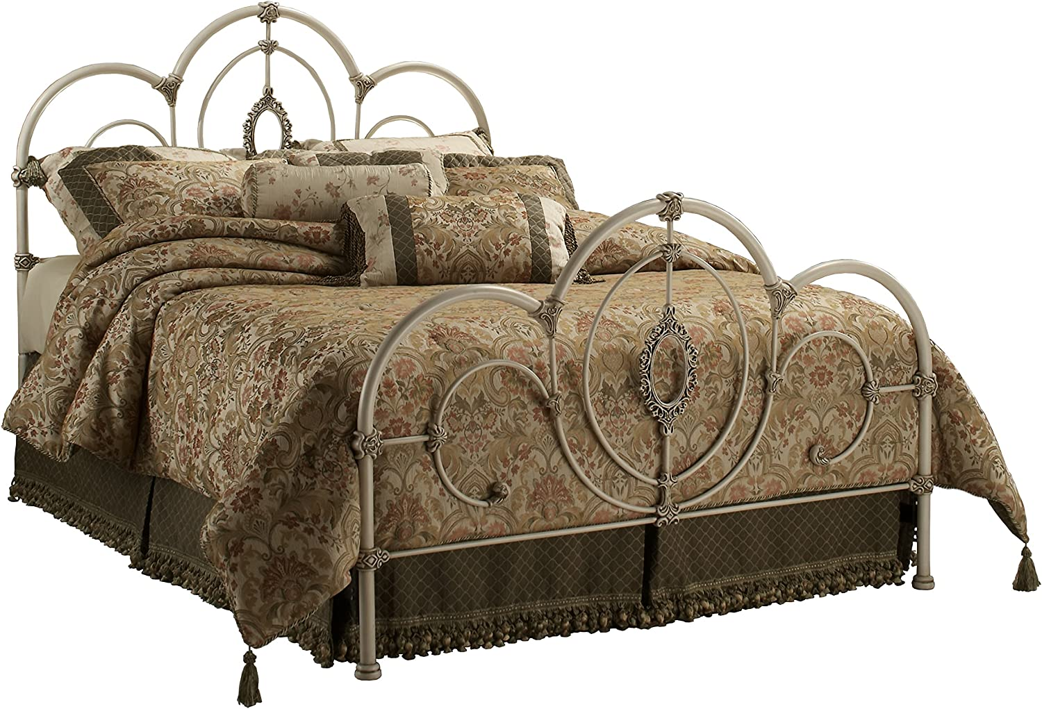 Hillsdale Furniture Victoria low-pricing Bed Set Rails with Antique W Full San Francisco Mall