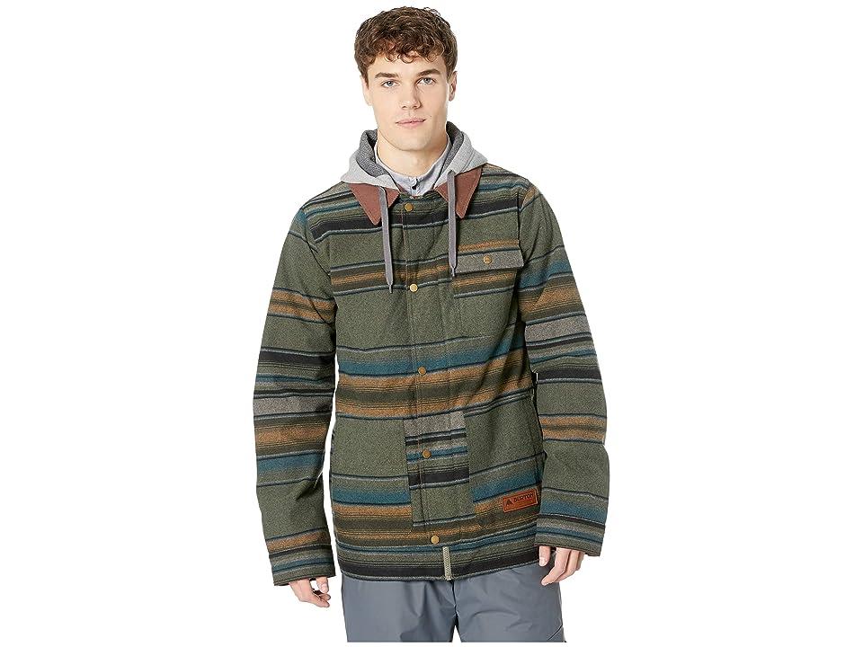 Burton Dunmore Jacket (Clover Tusk Stripe) Men