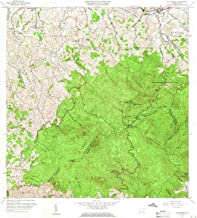 YellowMaps El Yunque PR topo map, 1:20000 Scale, 7.5 X 7.5 Minute, Historical, 1958, Updated 1960, 31.9 x 29.1 in