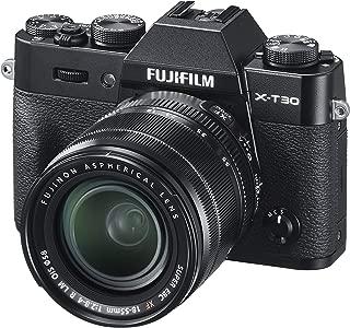 Fujifilm X-T30 with 18-55mm lens kit, Mirrorless Camera Black