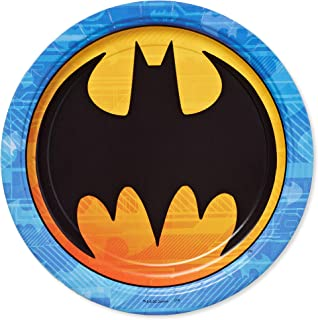 American Greetings Batman Party Supplies, Paper Dinner Plates (40-Count)