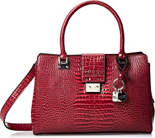 GUESS Women's Satchel Handbag, Merlot - CG743506