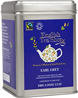 English Tea Shop - Earl Grey, BIO Fairtrade, Loser Tee, 100g Dose