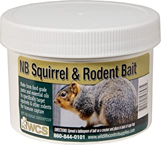 Wildlife Control Supplies WCS NB Squirrel & Rodent Paste Bait