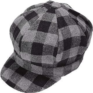 Womens Classic Newsboy Caps Visor 8 Panel Gatsby Apple Cabbie Hat
