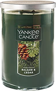 Yankee Candle Large 2-Wick Tumbler Candle, Cascading Snowberry Large 2-Wick Tumbler 1121422Z