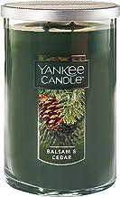 شمع Yankee شمع بزرگ 2 فتیله ای ، بالسام و سرو