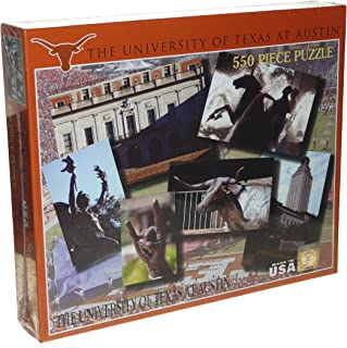The University of Texas at Austin 550 Piece Jigsaw Puzzle